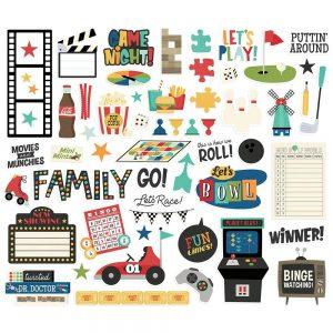 Simple Stories Family Fun Die cuts