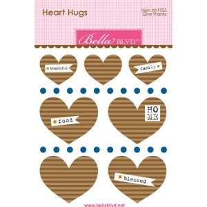 Bella Blvd Kraft heart hugs
