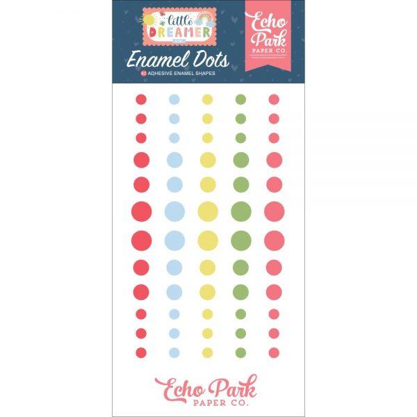 Echo Park Little Dreamer Girl Enamel Dots