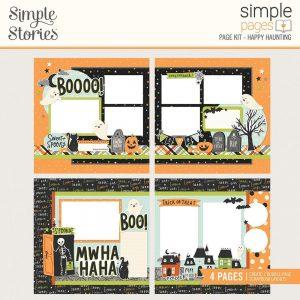 Simple Stories Spooky Nights Halloween Page Kit